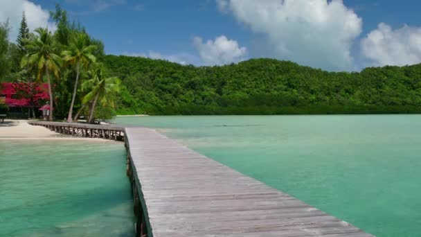 Paradise Island Resort bílého písku Tropical Beach atol dlaně moře