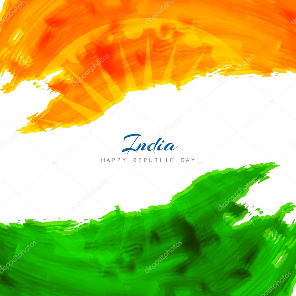 Indian Flag Theme Background Design Stock Vector C Creativehat