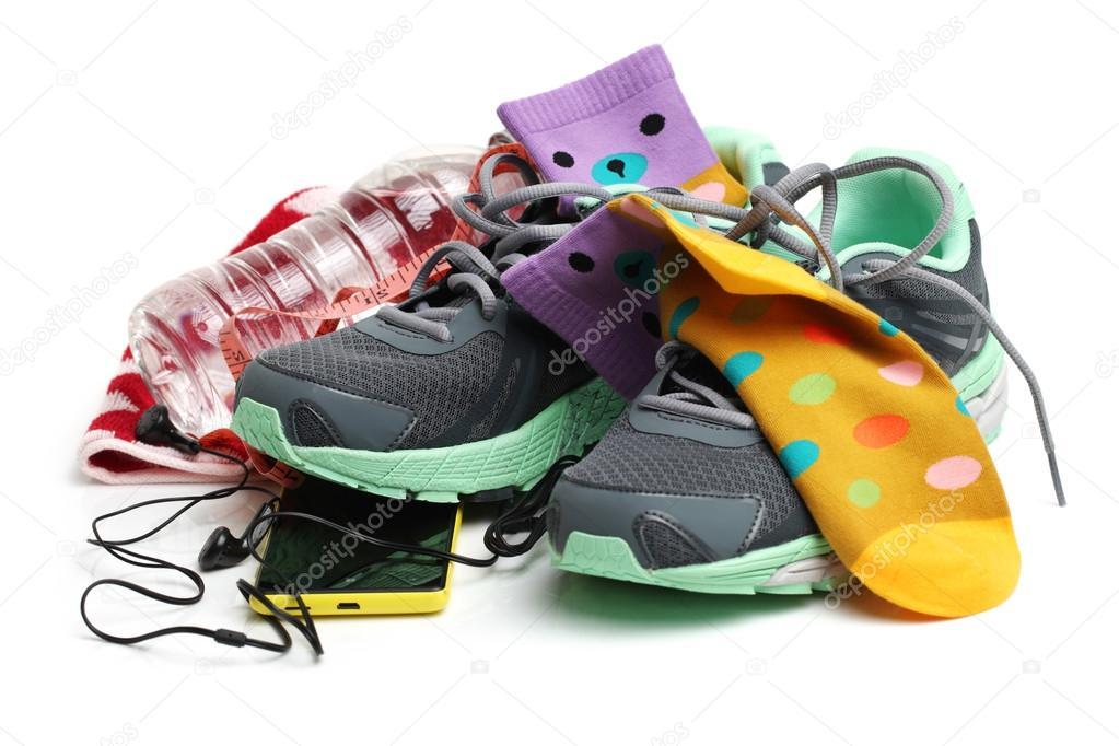 Fitness De Sportschool En Accessoires Concept Van Sportschoenen wqtXgSWIt