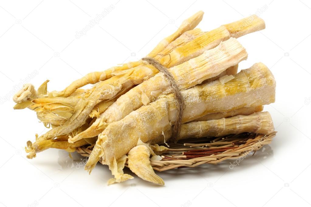 Dried bamboo shoot ⬇ Stock Photo, Image by © jianghongyan #54606659