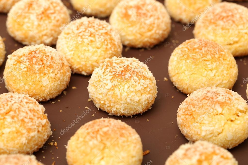 Orange Snowball Cookies Stock Photo C Jianghongyan 54621033