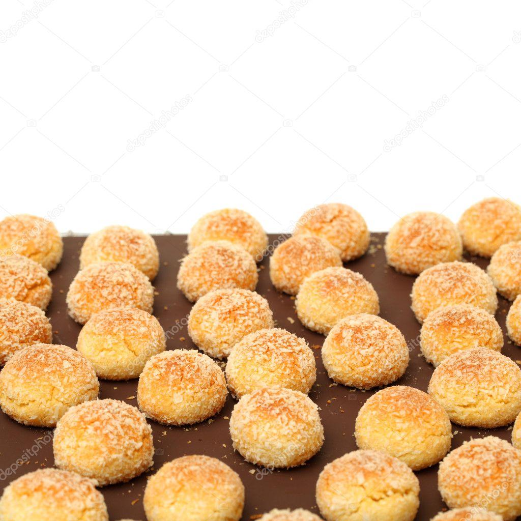 Orange Snowball Cookies Stock Photo C Jianghongyan 54621133