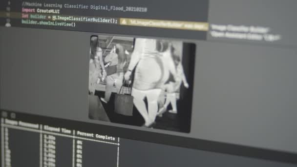 2.58 Valódi neurális hálózati gépi tanulás elemzi CCTV infravörös képek Közbiztonsági szabálysértések ellenőrzése