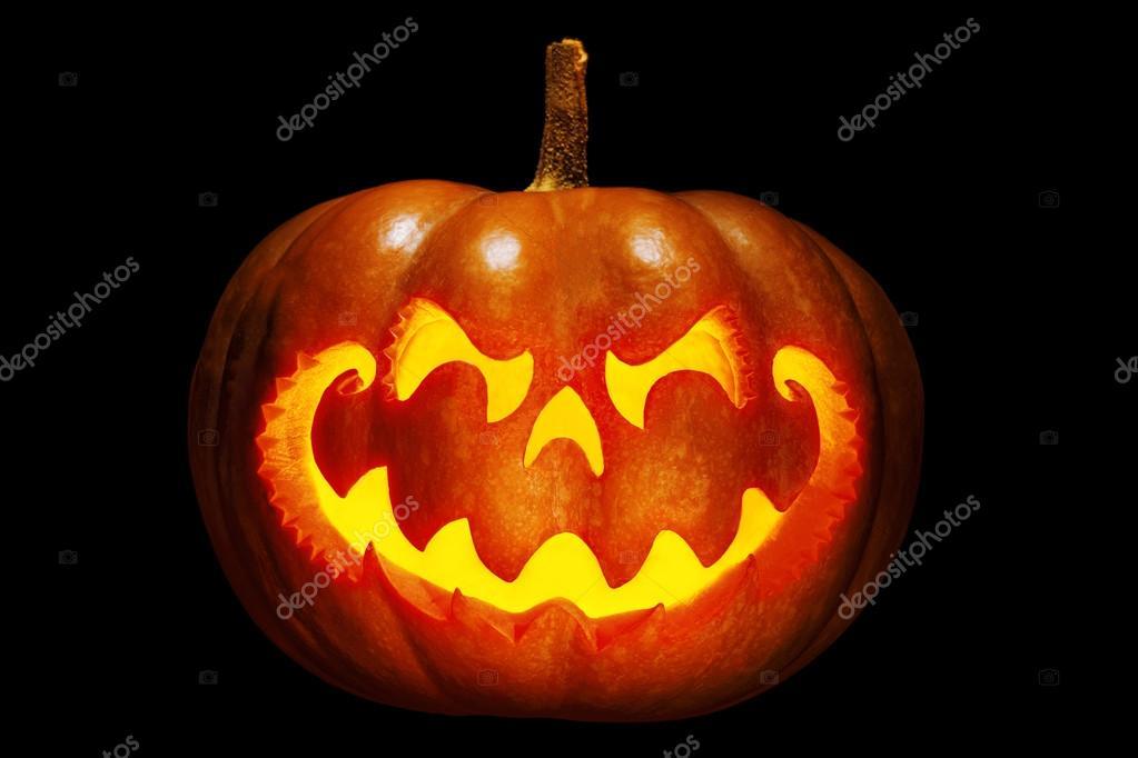 citrouille d 39 halloween effrayant qui ressemble une t te. Black Bedroom Furniture Sets. Home Design Ideas