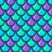 Plynulé barevné řeka rybí šupiny