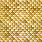 Fotografie Seamless gold river fish scales