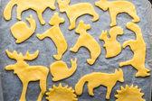 Fotografie Hausgemachte Kekse Lebkuchen