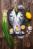 čerstvé mořské ryby