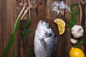 Fotografie čerstvé mořské ryby