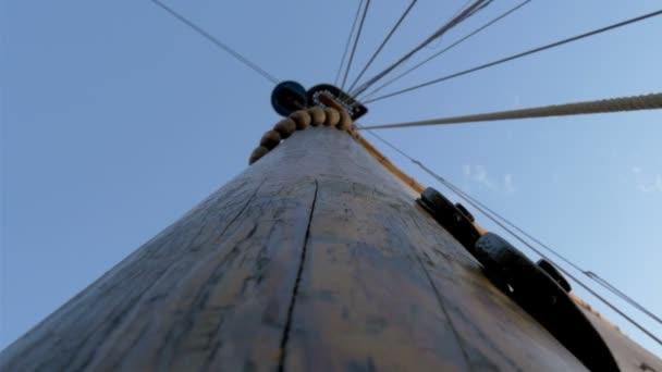 plachta stěžeň lodi velké látkou pro plachtění gh4