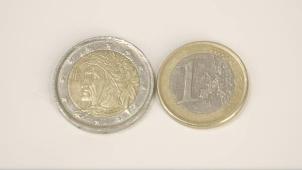 Ein Indischer Mann Bild Auf Eine Italienische Münze Und Eine 1