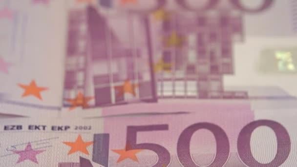 Bližší pohled na 500 Euro účet