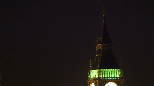 Zavřít pohled Big Ben v noci