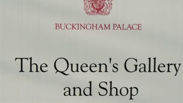 Znamení na Queens Galerie