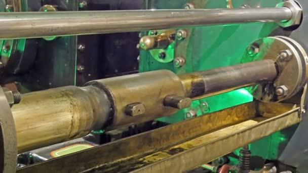 cilindro idraulico doro vecchio
