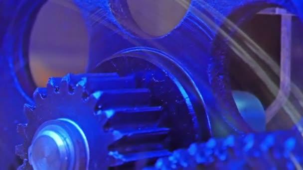 valvole rotonde in una camera idraulica