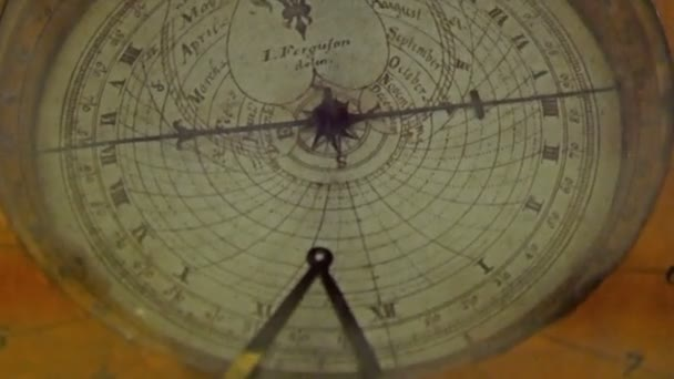 old model of a compass used for navigation