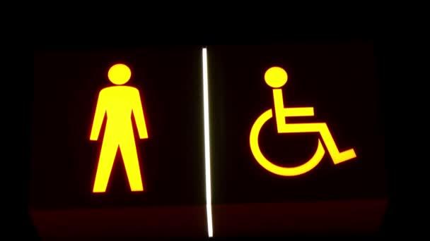 kibír az ember és a fogyatékos ember jelképe.