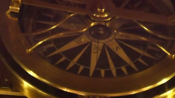 golden compass used for getting directions