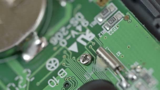 Egy akkumulátor chip belső processzor