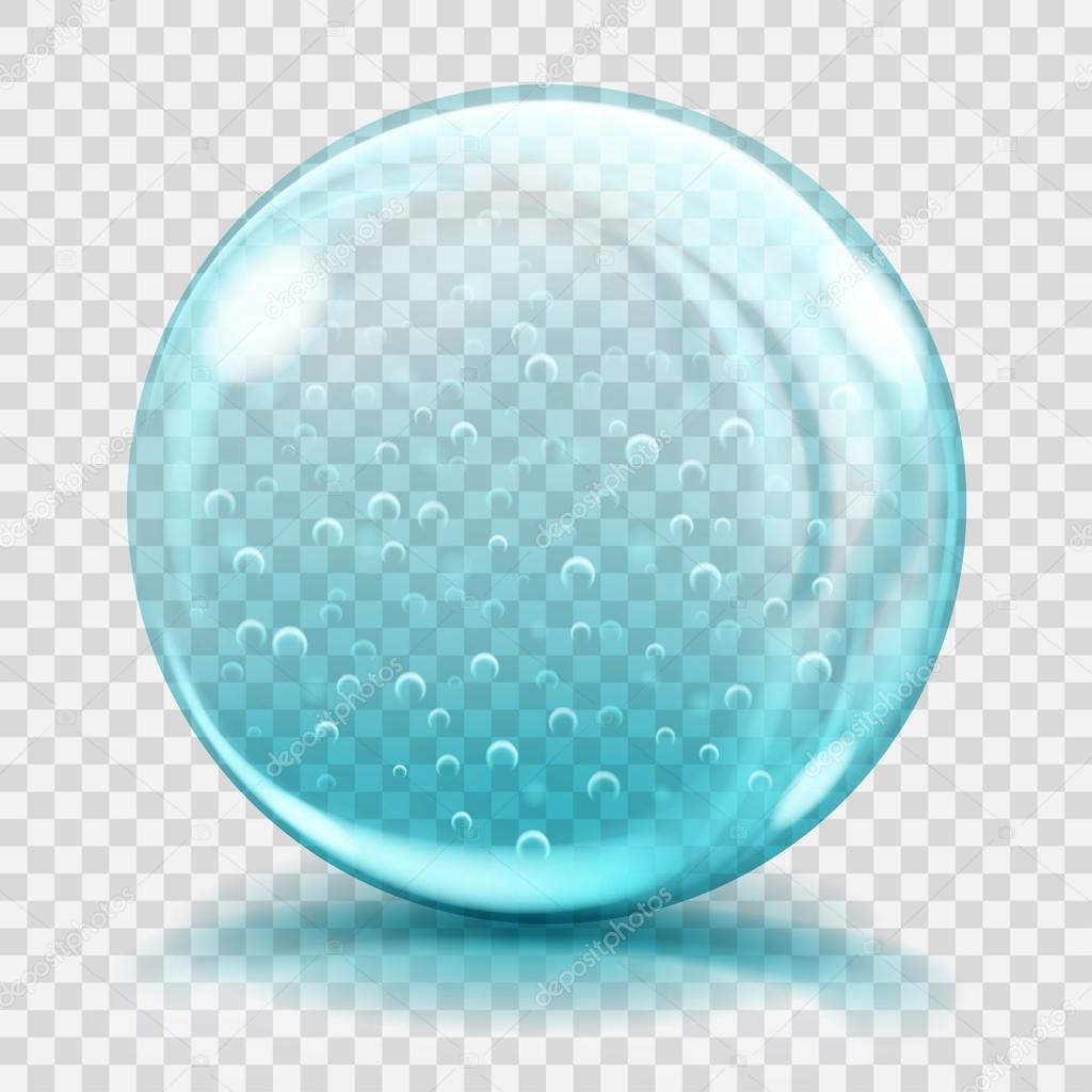 esfera de cristal azul claro grande con burbujas de aire bing clip art free images bing clipart trees