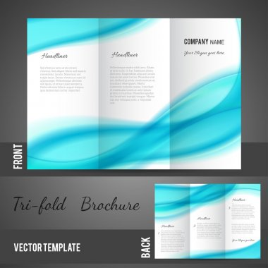 Three fold brochure design