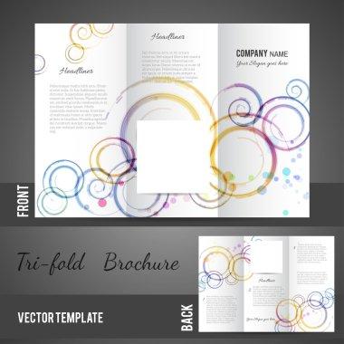 Three fold brochure design