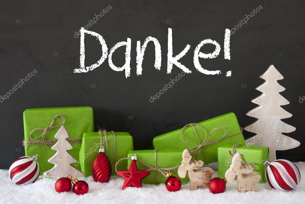 Weihnachten Dekoration, Zement, Schnee, Danke Danke Mittel ...