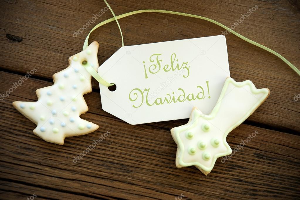 Weihnachtsgrüße Auf Spanisch.Spanische Weihnachtsgrüße Stockfoto Nelosa 56190127