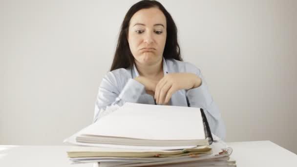 on stressed work