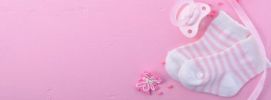 Baby Shower Social Media Web Banner