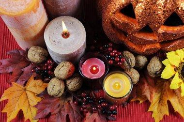 Happy Halloween Table Settings