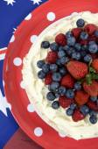 Pavlova den Austrálie strana potravin