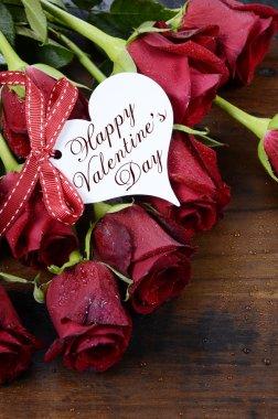 St Sevgililer günü kırmızı gül