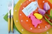 Fényképek Boldog húsvéti asztalra teríték