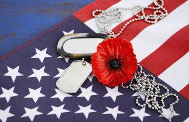"""Картина, постер, плакат, фотообои """"День памяти США концепции. """", артикул 71052687"""