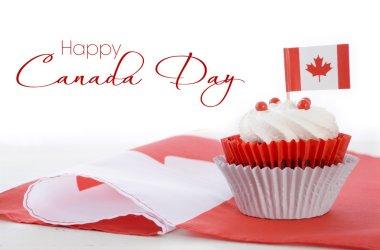 Happy Canada Day Cupcake