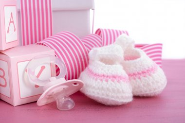 Baby shower Its a Girl pink gift