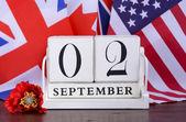 Fényképek Végén a második világháború 1945. szeptember 2. naptári dátumot