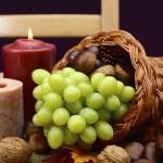 가 수확 추수 감사절 테이블 — 스톡 사진 © amarosy #88454618