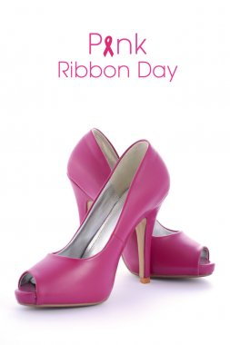 Pink shoes for Pink Ribbon Day Event
