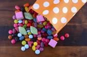 Fotografie Halloween Party Trick Treat Süßigkeiten
