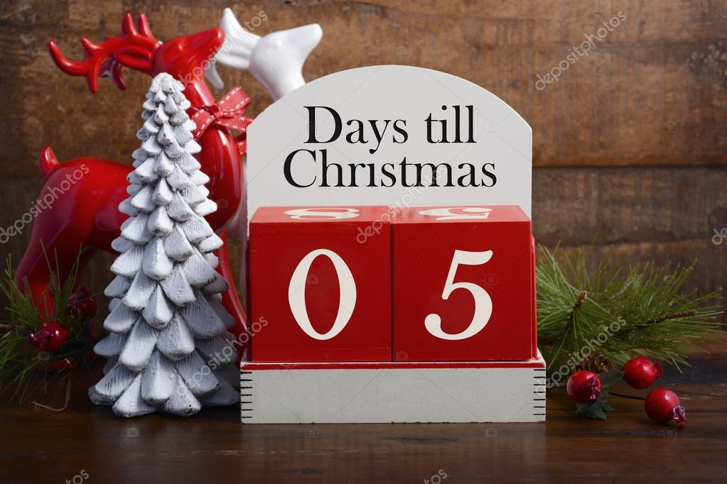 How Many Days Until Christmas Eve.5 Days Until Christmas Days Till Christmas Calendar
