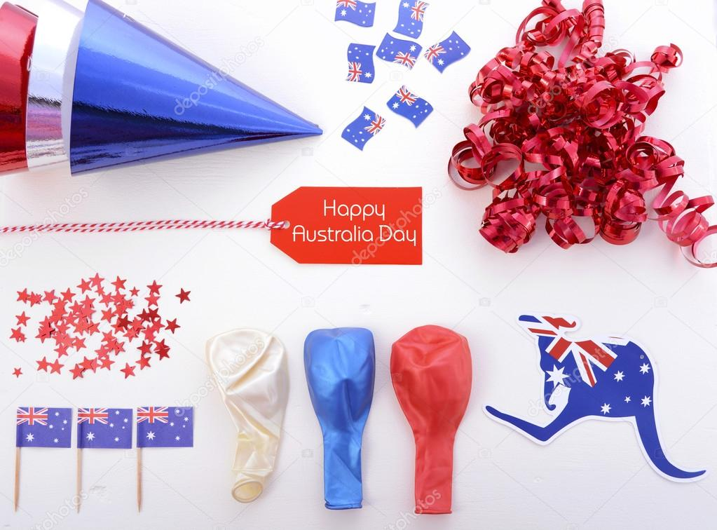 Australia day party decorations stock photo amarosy for Australian decoration