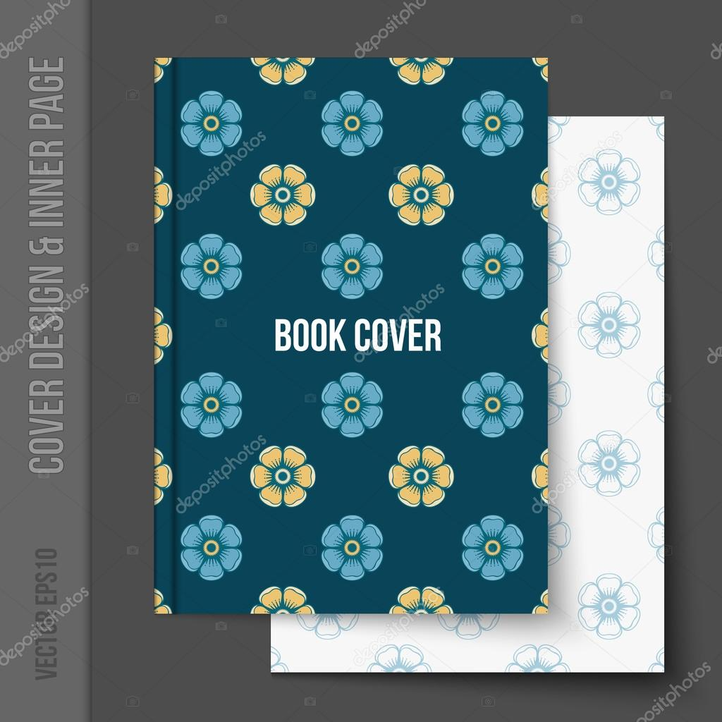 Cover Design For Business Brochure Annual Report Stock Vector