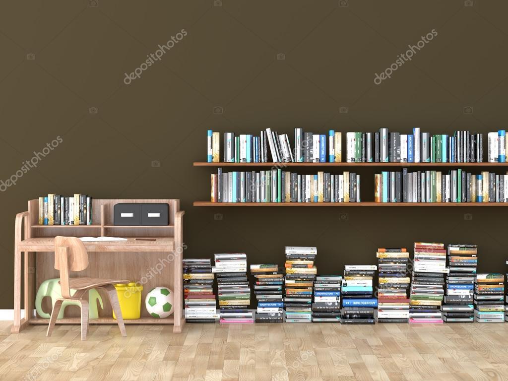 De Bibliotheek Kamer : Interieur boekenplank kamer bibliotheek kinderen kamer d beeld