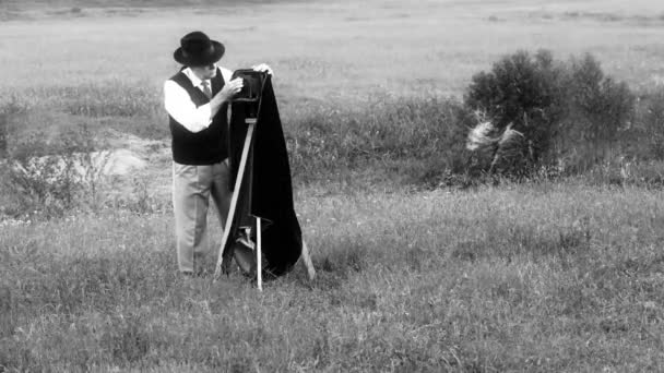 let fotograf černá a bílá