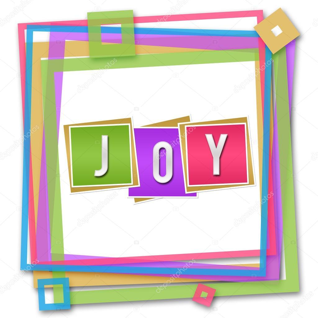 Marco colorido de alegría bloques — Foto de stock © ileezhun #103238972