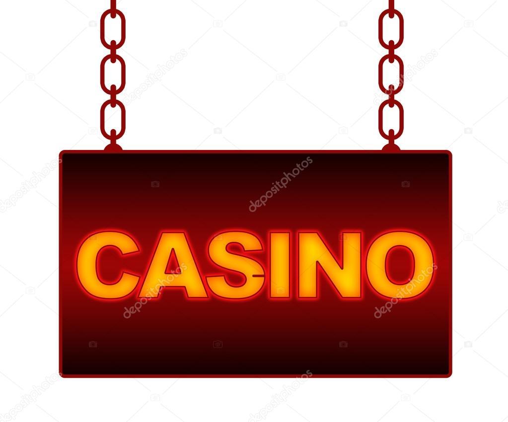 Неоновая вывеска казино можно ли играть в карты во дворе