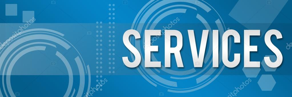 Services Business Style Background